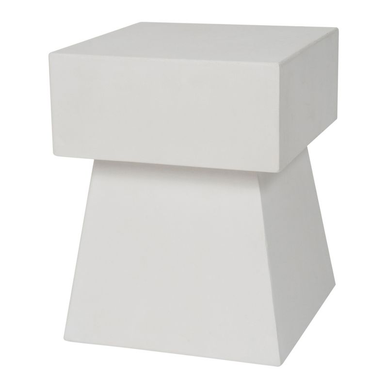 Safavieh Zen Mushroom Accent End Table, White