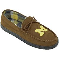 Men's Michigan Wolverines Microsuede Moccasins