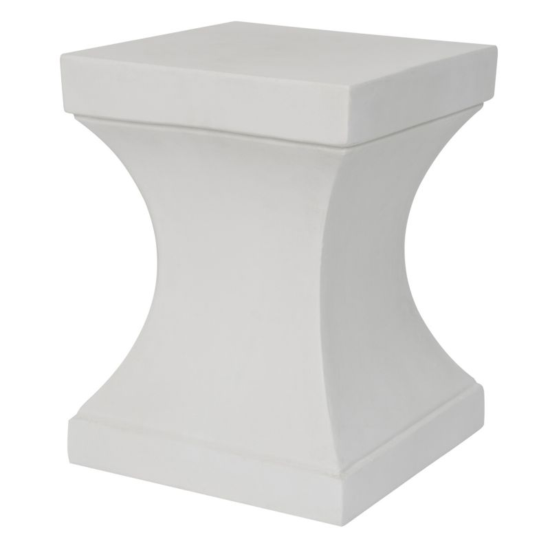 Safavieh Curby Accent End Table, White