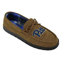 Men's Pitt Panthers Microsuede Moccasins