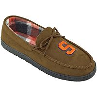 Men's Syracuse Orange Microsuede Moccasins