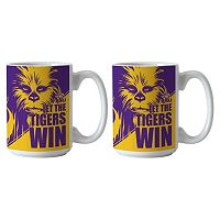 Boelter LSU Tigers Star Wars Chewbacca 2-Pack Mugs