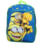 Kids Despicable Me Minions Banana Backpack