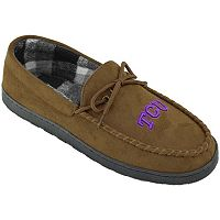 Men's TCU Horned Frogs Microsuede Moccasins