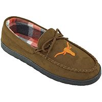 Men's Texas Longhorns Microsuede Moccasins