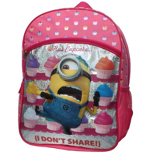 Kids Despicable Me Minions Cupcake Backpack