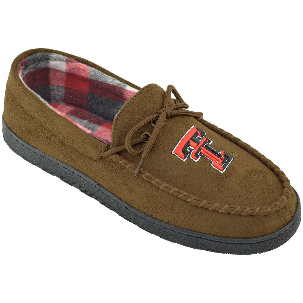 Men's Texas Tech Red Raiders Microsuede Moccasins