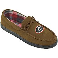 Men's Georgia Bulldogs Microsuede Moccasins