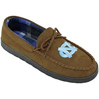 Men's North Carolina Tar Heels Microsuede Moccasins