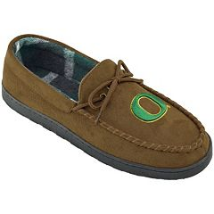 Men's Oregon Ducks Microsuede Moccasins