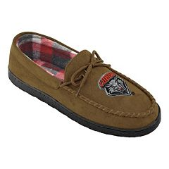 Men's New Mexico Lobos Microsuede Moccasins