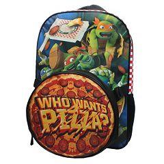 Kids Teenage Mutant Ninja Turtles 'Who Wants Pizza?' Backpack & Lunch Tote Set