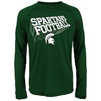 Boys 8-20 Michigan State Spartans Dimensional Long-Sleeve Performance Tee