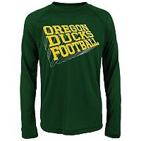 Boys 8-20 Oregon Ducks Dimensional Long-Sleeve Performance Tee