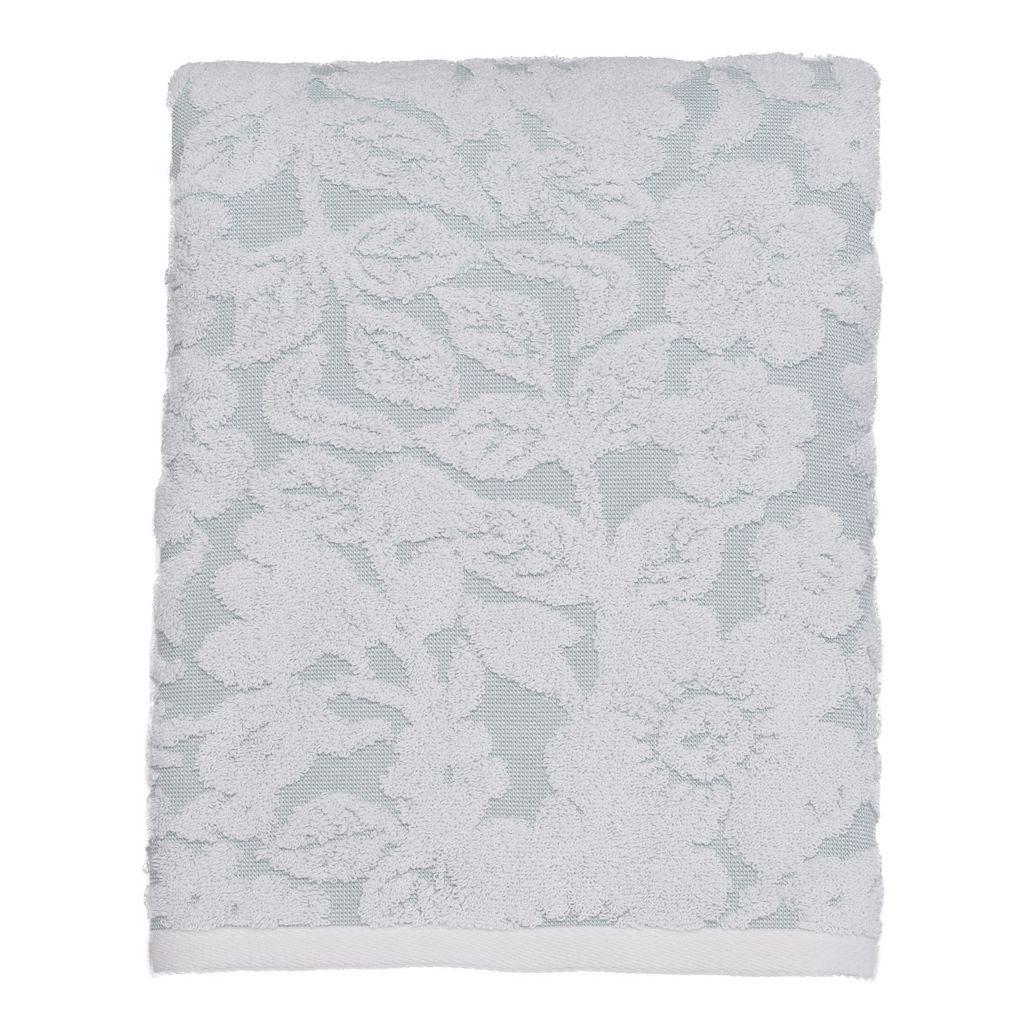 LC Lauren Conrad Silhouette Floral Bath Towel