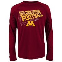 Boys 8-20 Minnesota Golden Gophers Dimensional Long-Sleeve Performance Tee