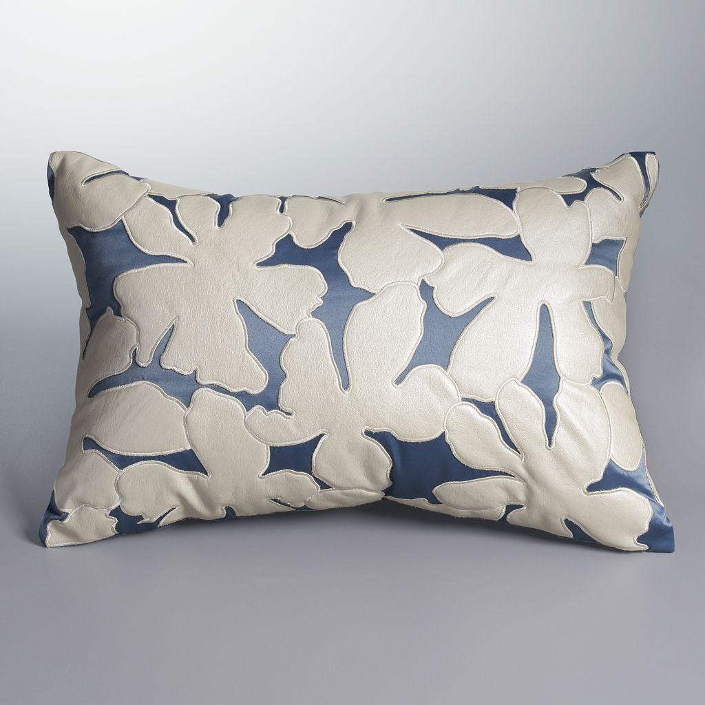 Simply Vera Vera Wang Orchid Haze Throw Pillow