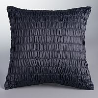 Simply Vera Vera Wang Orchid Haze Ruched Throw Pillow