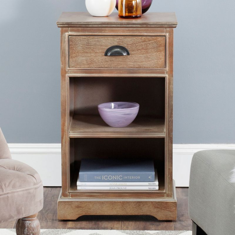 Safavieh Griffin End Table, Brown