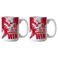 Boelter Nebraska Cornhuskers Star Wars Chewbacca 2-Pack Mugs