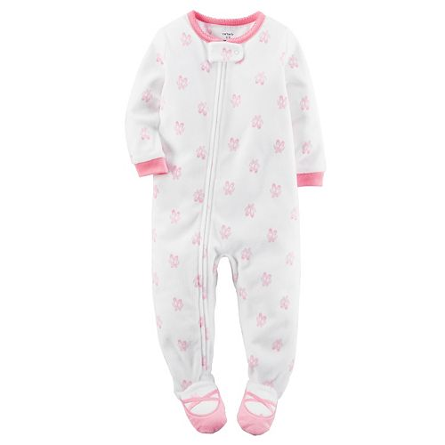 8d94d28e6 Baby Girl Carter s Ballerina Fleece Footed Pajamas