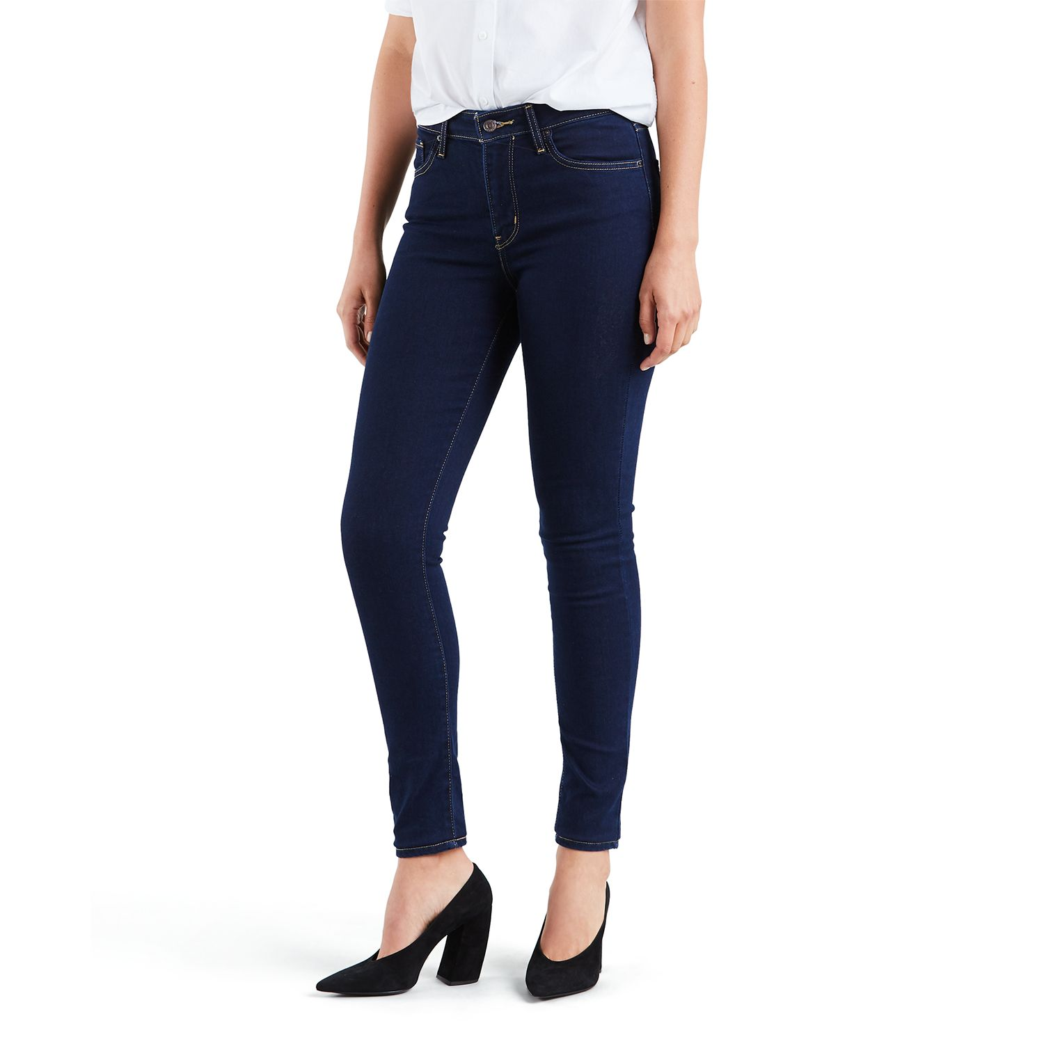 Womens Levis 721 Modern Fit High Rise Skinny Jeans