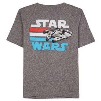 Boys 8-20 Star Wars Millennium Falcon Tee
