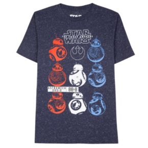 Boys 8-20 Star Wars: Episode VII The Force Awakens American BB-8 Tee