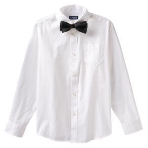 Boys 4-7 Chaps Bow-Tie & Shirt Set