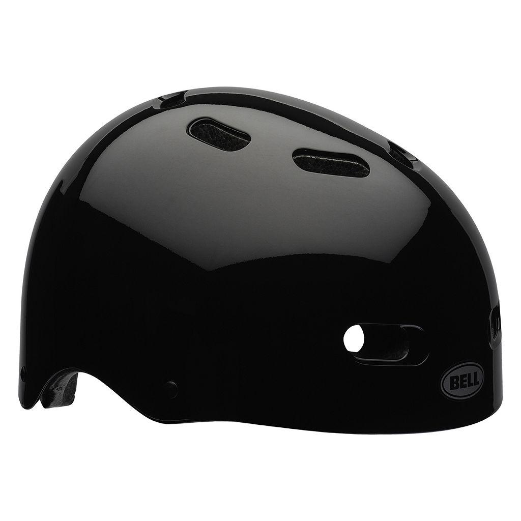 Youth Bell Psycho Black Bike Helmet