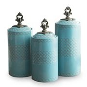 American Atelier 3 pc Canister Set