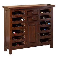 Hillsdale Furniture Tuscan Retreat  Wine Storage Buffet Table