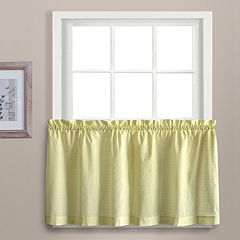 United Curtain Co. 2-pack Dorothy Dots Tier Pair