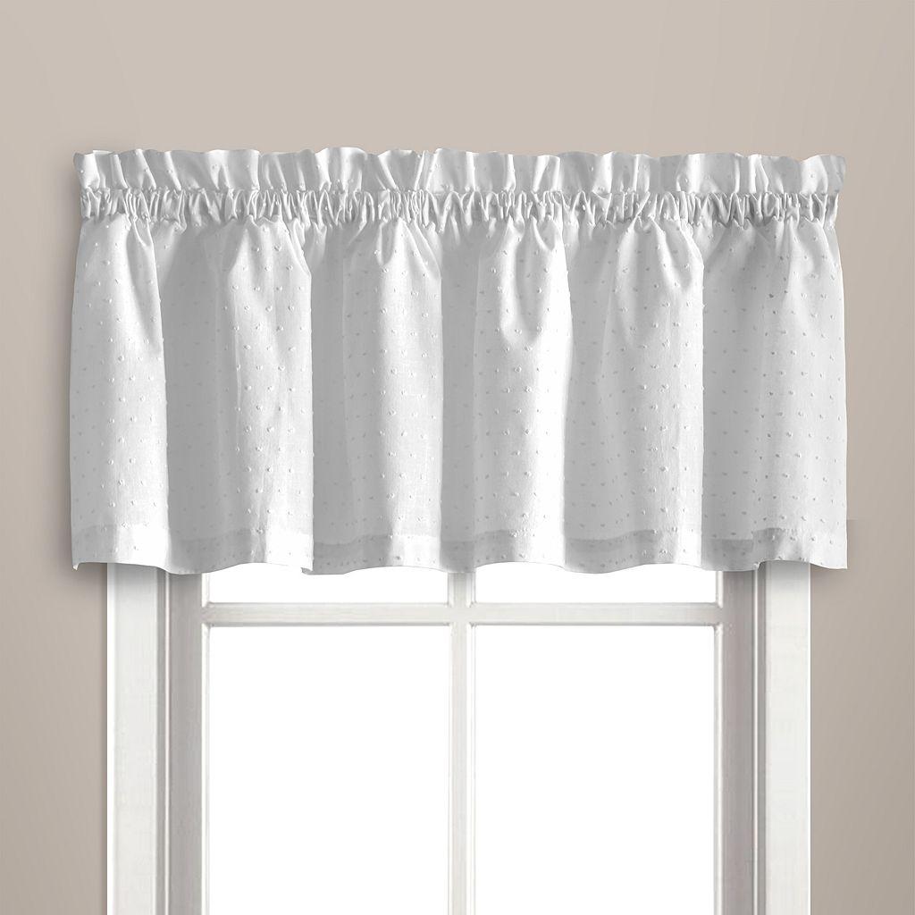 United Curtain Co. Dorothy Dots Valance