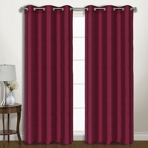 United Curtain Co 2 Pack Vintage Window Curtains