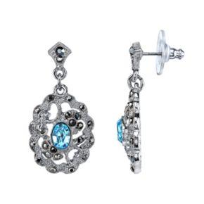 1928 Filigree Drop Earrings
