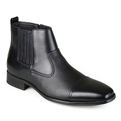 Vance Co. Alex Men's Cap-Toe Dress Boots