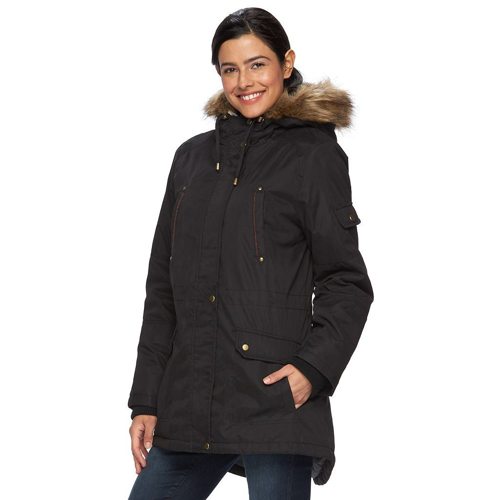 Women's d.e.t.a.i.l.s Hooded Anorak Parka