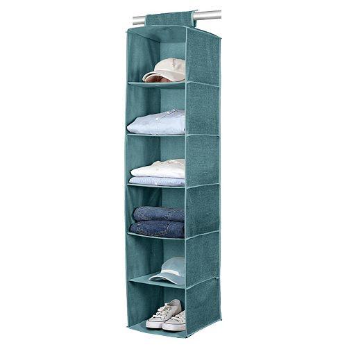 Simplify Dusty Blue 6 Shelf Sweater Organizer