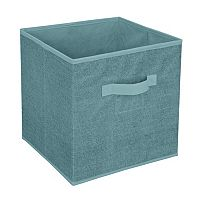 Simplify Dusty Blue Cube Storage Box