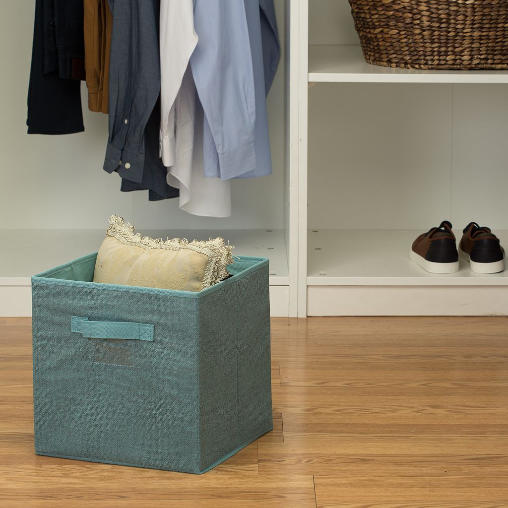 Simplify Dusty Blue Cube Storage Box