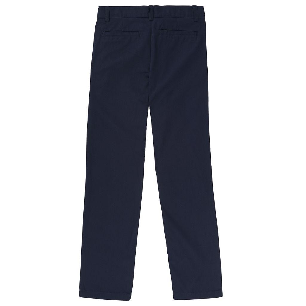 Boys 4-20 French Toast School Uniform Adjustable-Waist Twill Pants