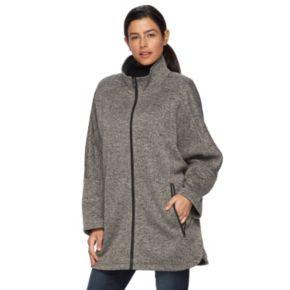 Women's d.e.t.a.i.l.s Sweater Fleece Poncho Jacket