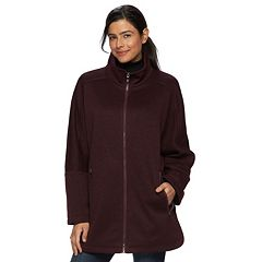 Women's d.e.t.a.i.l.s Sweater Fleece Poncho Jacket