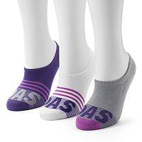 Women's adidas 3-pk. ''Super'' No-Show Socks