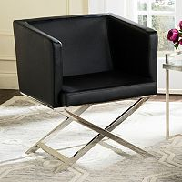 Safavieh Celine Faux-Leather Accent Chair