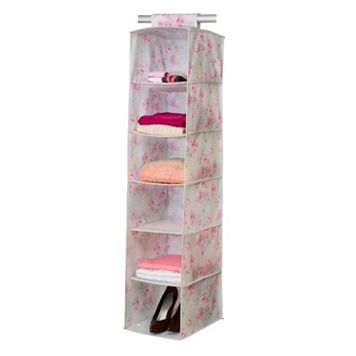 Laura Ashley Beatrice 6 Shelf Non-Woven Sweater Organizer