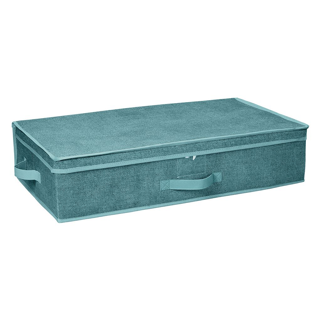 Simplify Dusty Blue Under The Bed Storage Box