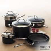 Food Network 11-pc. Hard-Anodized Cookware Set