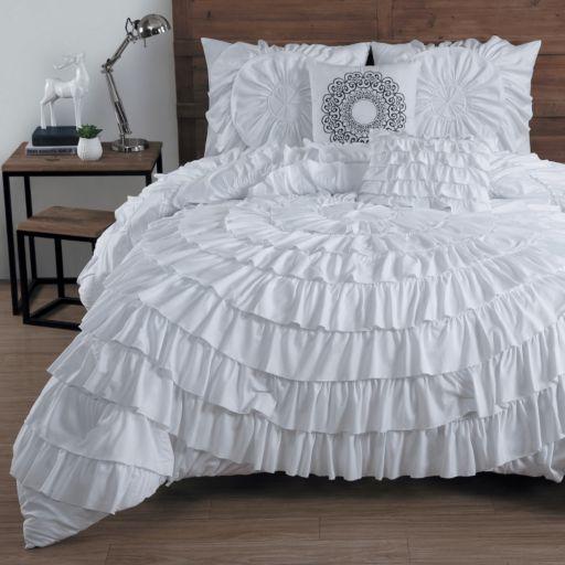 Avondale Manor Sadie Circle Ruffle 5-piece Bed Set